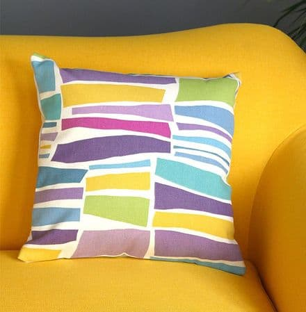 Cushion cover in Milla Sanderson fabric