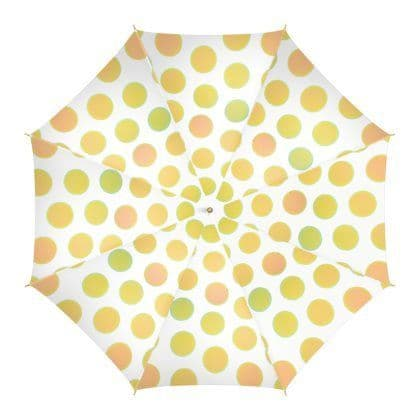 Gold Circles Umbrella