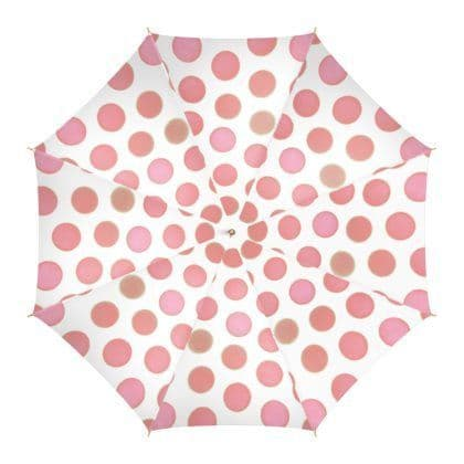 Pink Circles Umbrella