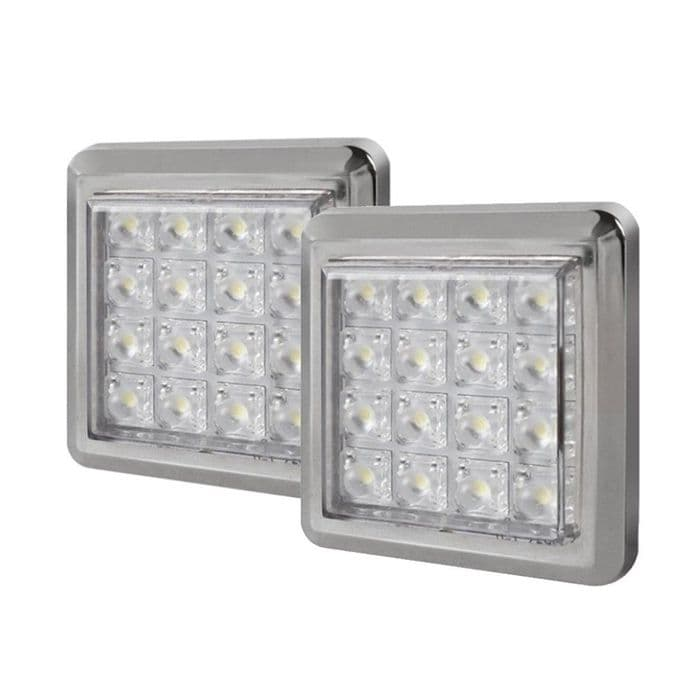 Quadro 2 Point Cabinet LED Light Fitting