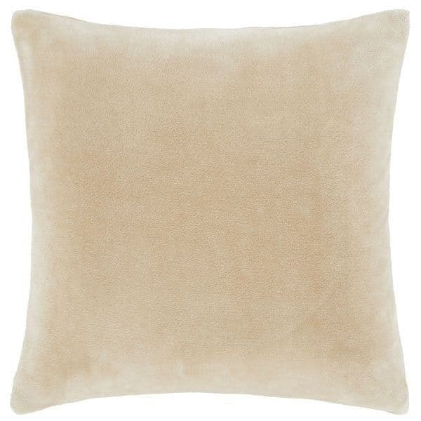 Velvet Cushion Cover in Latte