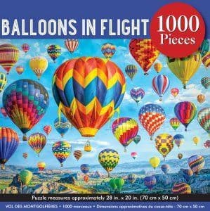 Balloons in Flight (1000 pc)