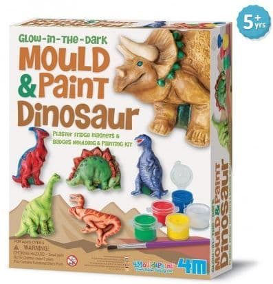 Dinosaur Mould and Paint