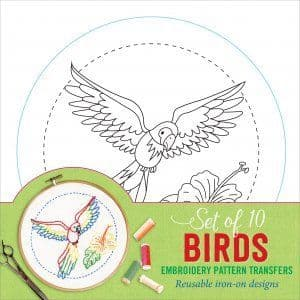 Embroidery Pattern Transfers - Birds