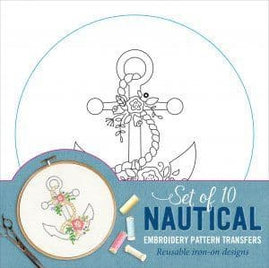 Embroidery Pattern Transfers - Nautical