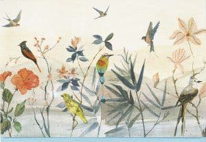 Note Cards - Bird Garden