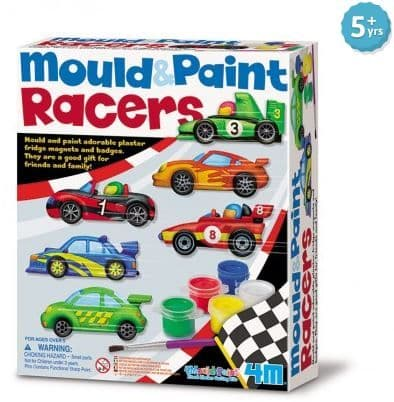 Racing Cars Mould and Paint