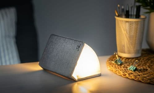 Smart Booklight - Grey Fabric (Mini)