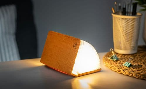 Smart Booklight - Orange Fabric (Mini)