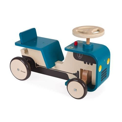 Wooden Ride-On Tractor
