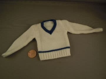 ACTION MAN 40th - CRICKETER - WOOL JUMPER