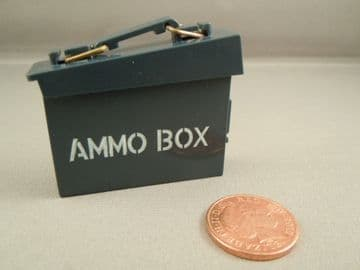 ACTION MAN 40th - NAVY ATTACK - Blue Ammo Box