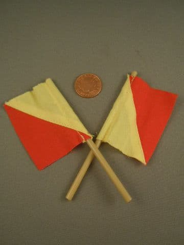 ACTION MAN 40th - NAVY ATTACK - SEMAPHORE SIGNAL FLAGS