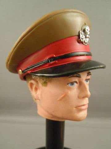 ACTION MAN 40th - TALKING COMMANDER/ BRITISH OFFICERS CAP
