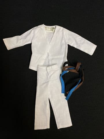 VINTAGE ACTION MAN  - JUDO Uniform 2nd Issue