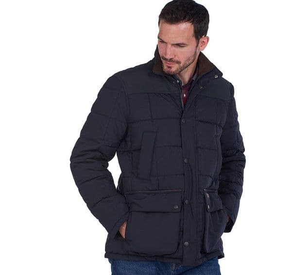 Barbour Ambrose Quilted Jacket / Navy