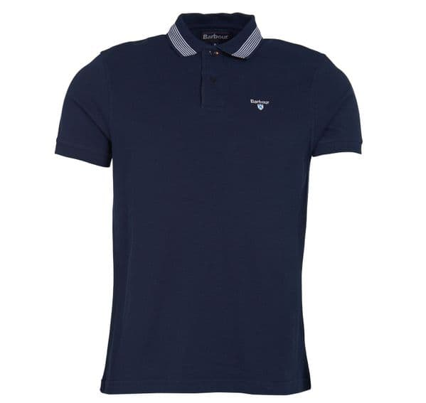 BARBOUR KEER TIPPED POLO