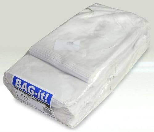 6x6 WHITE SULPHITE PAPER BAGS