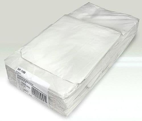 8.5x8.5 WHITE SULPHITE PAPER BAGS
