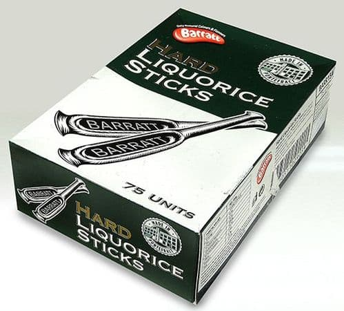 A02 BARRATT HARD LIQUORICE STICKS