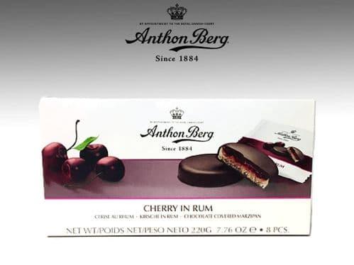 ANTHON BERG CHERRY IN RUM  x1 SINGLE BOX