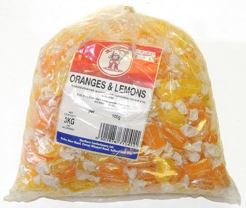 B14 ORANGE & LEMON SLICES 3KG