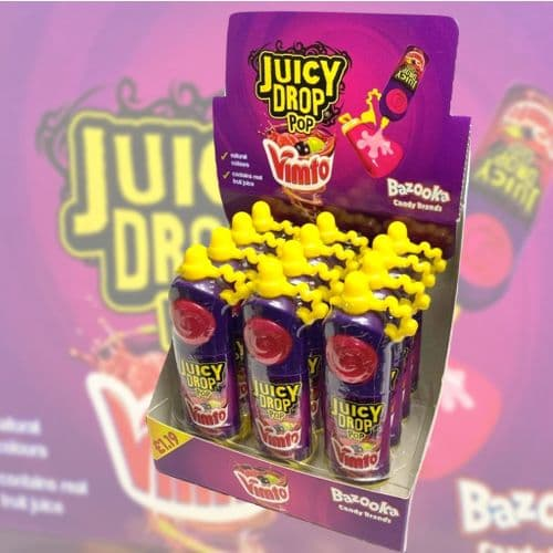 BAZOOKA VIMTO JUICY DROP POP x12 | PM £1.19