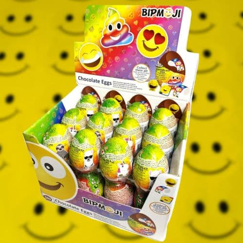 BIPMOJI CHOCOLATE EGG x24
