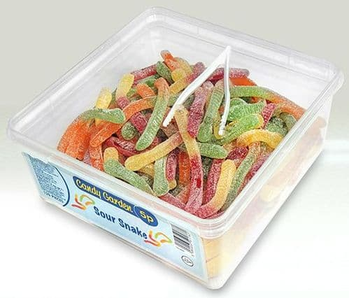 CANDY GARDEN Sour Snakes 5p (OFFER | B.B. 25th MAY 2021)