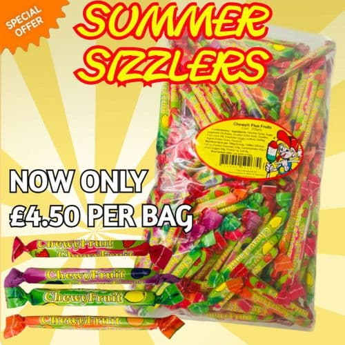 CHEWY FRUITS PLUS  200x5p