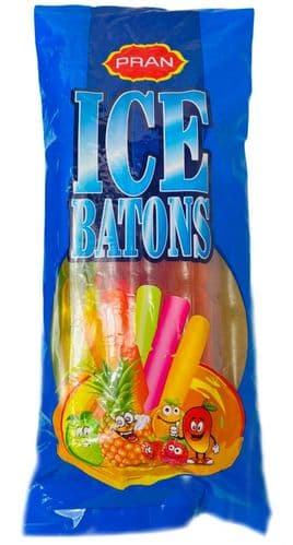 ICE01 ICE LOLLY BATONS ASSORTED FLAVOURS 12x10x70ml