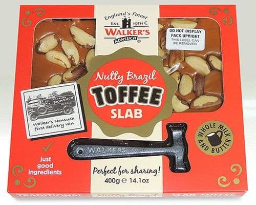 L110 WALKERS 400G NUTTY BRAZIL SLAB