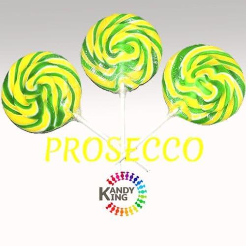 PROSECCO FLAVOUR SWIRL LOLLYPOPS x24