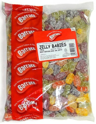 Q44 BARRATT DUSTED JELLY BABIES 3kg