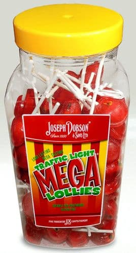 Wholesale Dobson's Traffic Light Lollies | 90 Count Jar