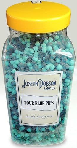 R119 DOBSONS SOUR BLUE PIPS JAR