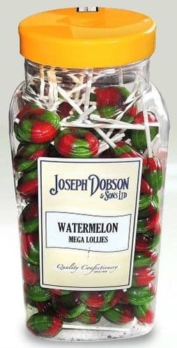 R138 DOBSONS WATERMELON LOLLIES 1x90
