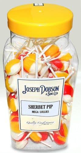 R152 DOBSONS SHERBET PIP LOLLY x 90