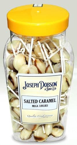 R153 DOBSON SALTED CARAMEL LOLLY x 90
