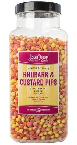 R67 DOBSONS  RHUBARB & CUSTARD PIPS 2.72kg