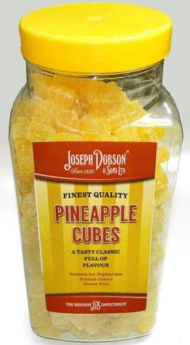 R83 DOBSONS  PINEAPPLE CUBES 2.72KG