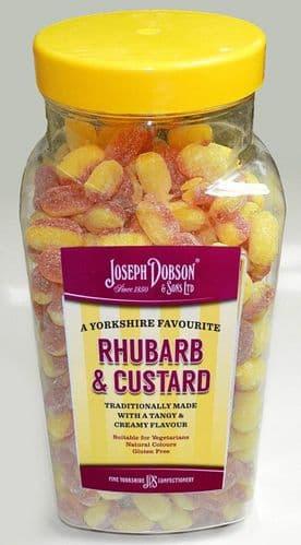 R88 DOBSONS RHUBARB & CUSTARD SWEETS