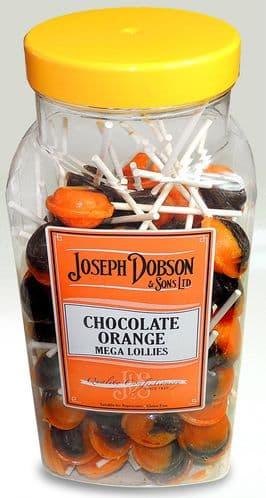 R94 DOBSONS CHOCOLATE ORANGE LOLLY 1X90