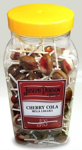 R96 DOBSONS CHERRY COLA LOLLY 1X90