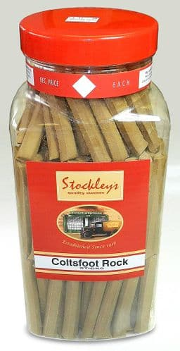 STOCKLEYS JAR COLTSFOOT ROCK STICKSx150