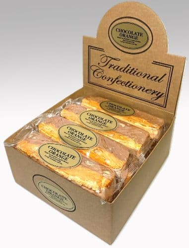 T37 CHOCOLATE ORANGE & PEANUT NOUGAT BARS 1x16