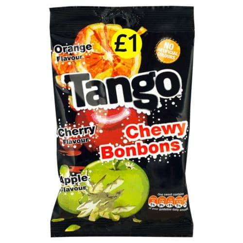 TANGO CHEWY BONBONS 12x140g  P.M £1