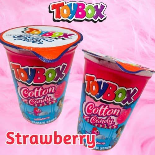 TOYBOX COTTON CANDY STRAWBERRY x36