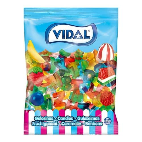 VIDAL LETTERS AND NUMBERS x250