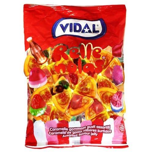 VIDAL PIZZA JELLY SLICES 1KG